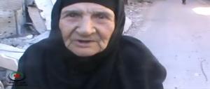 anziana a homs 24 aprile 2013
