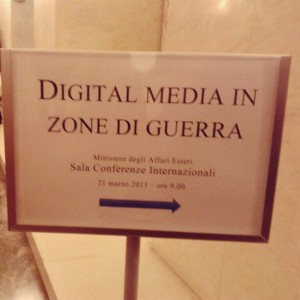 Digital media in zone di guerra