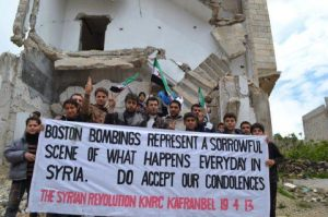 Kafranbel per Boston