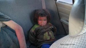 Aleppo località alawiji bambina diventata muta