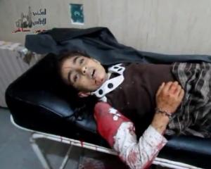 Hanan al Ibrahim Aleppo Deir Hafer 25 maggio 2013