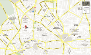 Homs cartina google