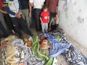 Sarmin Idlib 26 maggio 2013