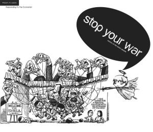 Wissam Al Jazairy Stop your war