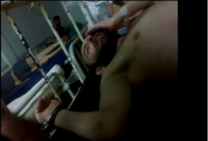 7 giugno 2013 periferia di Aleppo malati torturati