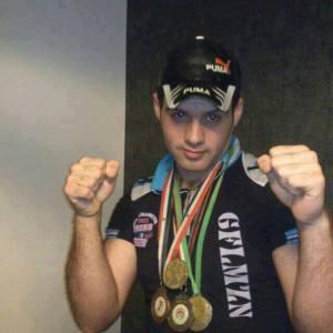 Basel Allawuz campione pugilato Baba Amr 29 maggio 2013
