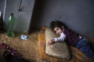 Syrian children refugee