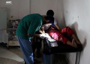 Aleppo ospedale da campo