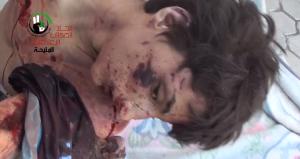 Ghuta 26 aprile 2013 bambino torturato e ucciso