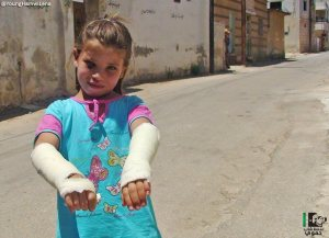 Hama Kafarzeita 10 luglio 2013