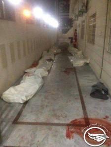 martiri della moschea Alhusami 29 luglio 2013