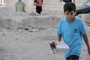 Aleppo anadan 1 agosto 2013 martiri della moschea di Hamza