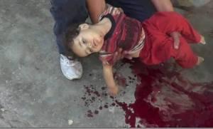 Ghazal Alaa Al Rifae 2 agosto 2013 Nawa Dara'à