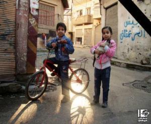 ياسين و مريم الصباغ، قبل نصف ساعة من استشهادهما في حمص المحاصرَة