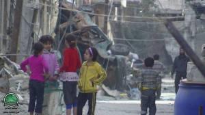 Homs sotto asssedio 30 novembre 2013