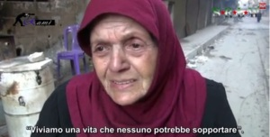 Anziana sotto assedio 23 dicembre 2013