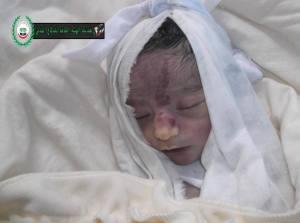 Balqis Alshaykh 17 febbraio 2014 Ghouta estern