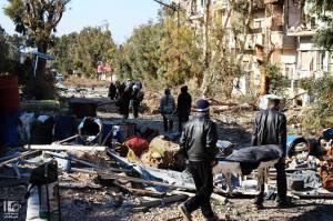 Homs 7 febbraio 2014