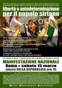 15 marzo 2014 manifestazione