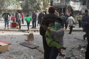 Aleppo 19 aprile 2014