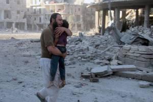 Aleppo Siria 9 luglio 2014