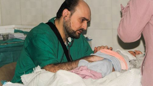 Dott Maaz Wasim Muhamed Aleppo 27 aprile 2016