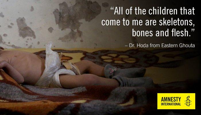 Amnesty per al Ghouta